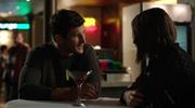 Alex Davis and Thea Queen in bar (1)