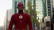 Oliver Queen como Flash