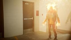 Firestorm en aparcamiento