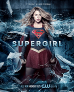 Supergirl season 2 poster - It couldn't be more personal