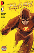 The Flash Season Zero chapter 1 variant cover