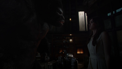 Grodd asks Caitlin to make other gorillas like him
