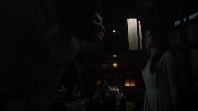 File:Grodd asks Caitlin to make other gorillas like him.png