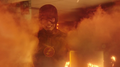 The Flash extinguishing a fire.png