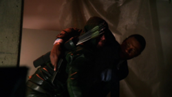 The Hood saves Diggle
