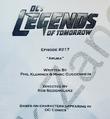 DC's Legends of Tomorrow script title page - Aruba.png