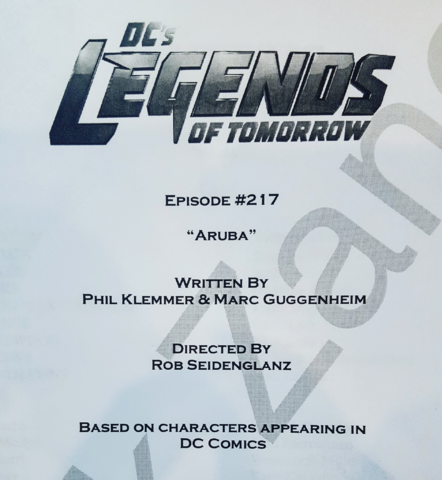 File:DC's Legends of Tomorrow script title page - Aruba.png