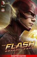 The Flash Season Zero chapter 11 digital cover