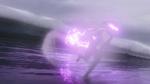Iris z mocami sprintera biega po wodzie