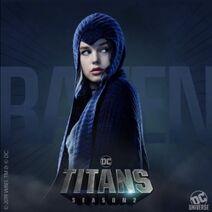 TitansT2 - Raven poster