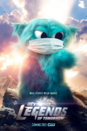 DC's Legends of Tomorrow poster - Real Heroes Wear Masks (Beebo)