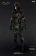 Green Arrow season 4 concept artwork