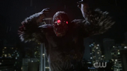 Grodd wearing the telepathic crown