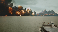 Lian Yu erupts in explosions