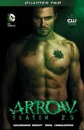 Arrow Season 2.5 chapter 2 digital cover