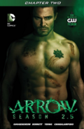 Arrow Season 2.5 chapter 2 digital cover