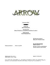 Arrow script title page - Al Sah-him