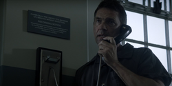 Jacob Kane has a phone call with Mary in Blackgate