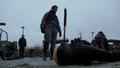 Slade Wilson stabs Billy Wintergreen in the eye.png