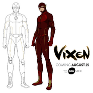 Vixen - Flash arte conceptual