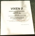 Vixen script title page - Trial by Fire + DVD material.png