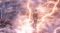 Barry Allen in the Speed Force
