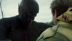 Black Flash erases Eobard's remnant