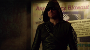 Oliver's new Arrow suit