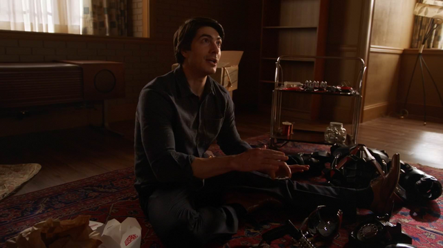 File:Ray Palmer building a time beacon.png