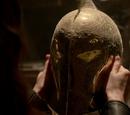 Mysterious helmet