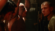 Mikhail Arkadin torturing Ray Palmer and Mick Rory (1)