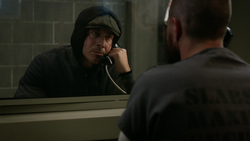 Diaz tells Oliver he will kill him