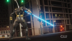Flash (Oliver) vs A.M.A.Z.O.