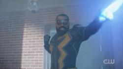 Black Lightning protects Franklin Terrace