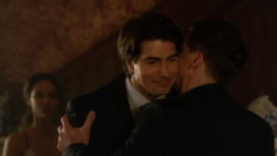 Nate as Ray's best man