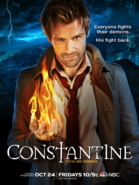 Constantine season 1 promotional poster
