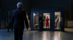 Felicity, Thea and John in gas chamber