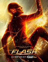 The Flash promo poster - He searched for the impossible Then he became it