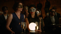 Alex and Maggie at the fight club