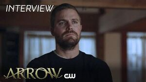 Arrow Stephen Amell And David Ramsey - Hard Traveling Heroes The CW