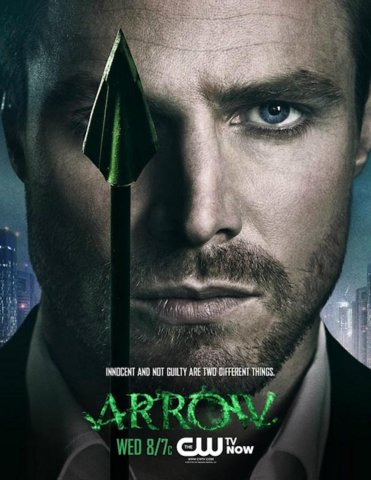 Arquivo:Arrow promo - Innocent and not guilty are two different things.png