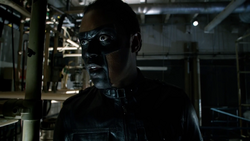 Mr. Terrific's first suit