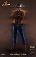 Arte conceitual de Flash (Hunter Zolomon)