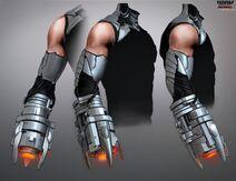 Doom Patrol - Cyborg Concept Art 4