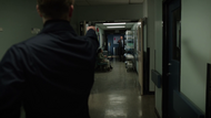 Oliver stops James Edlund from shooting a Star City hospital