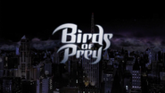Title card de Birds of Prey