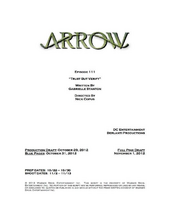 Arrow script title page - Trust but Verify