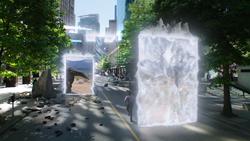 Time courier portals
