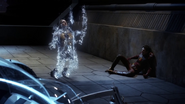 Eobard Thawne being erased from existence