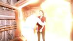 Nate informuje Zari, jak zyskać jego pomoc w zapętlonej godzinie tuż przed wybuchem statku